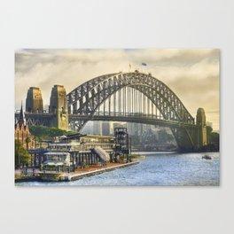 Sydney Harbour Canvas Print