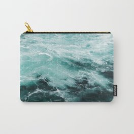 Water Photography | Sea | Ocean | Pattern | Abstract | Digital | Turquoise Carry-All Pouch