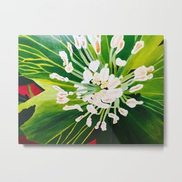 "Rita Ricci ""Flowers by ApplausoUS Metal Print"