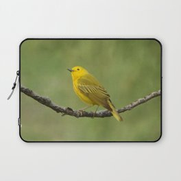 Yellow Warbler Laptop Sleeve