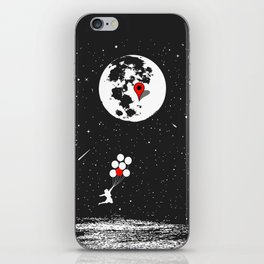 Destination Moon iPhone Skin