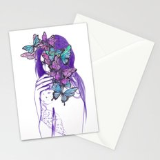 Amongst Butterflies Stationery Cards