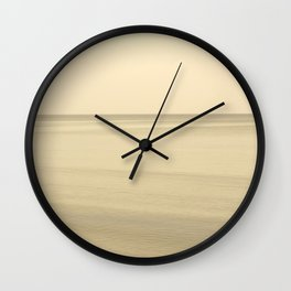 Sea I Wall Clock
