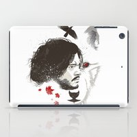 snow iPad Cases featuring Snow by Danny Haas