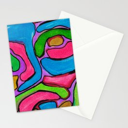 Ink Abstract Stationery Cards