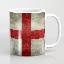 Flag of England (St. George's Cross) Vintage retro style Coffee Mug