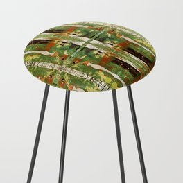Out there in the woods, I feel peace........ Counter Stool