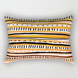 Sketchbook Bink 10 warm Rectangular Pillow