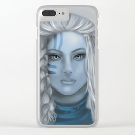 Ice Queen Clear iPhone Case