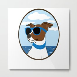 Cool Doggy Style Metal Print