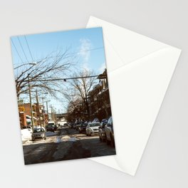 winter ending Stationery Cards