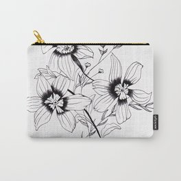 ' FLORAL ' flower drawing Carry-All Pouch