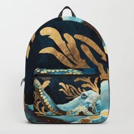 Indigo Octopus Backpack
