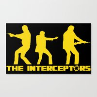 top gear Canvas Prints featuring The Interceptors - Top Gear by not-the-stig