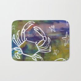 Blue Crab Kind of Day Bath Mat
