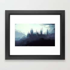 Harry Potter - Hogwarts Framed Art Print