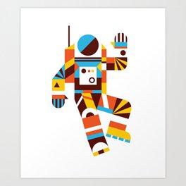 Hello Spaceman 2.0 Art Print