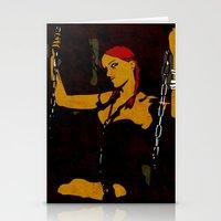 redhead Stationery Cards featuring Redhead by Sandra Höfer