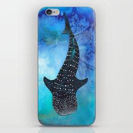 Silent Swim iPhone Skin