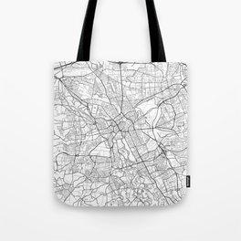 Hanover Map White Tote Bag