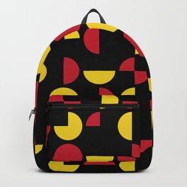 Mid Century Geometric Pattern II Backpack