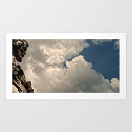 thousand years series (father) Art Print