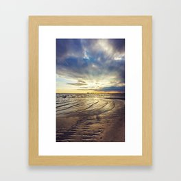 Gulf Coast Shoreline Framed Art Print