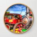 Traction Engine And Steam Lorry Art by davidpyatt