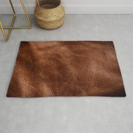 Vintage Dark Brown Leather Texure. Fine Leather Crafting, Handcrafts Work Space, Handmade Leather handcrafted, leather worker. Rug
