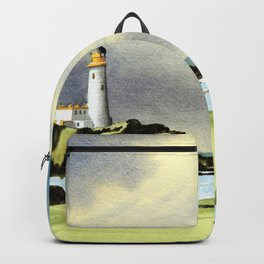 Turnberry Golf Course 10th Green Backpack