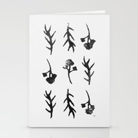 plants Stationery Cards featuring plants by Ingrid Winkler