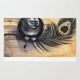 Owl Monkey Rug