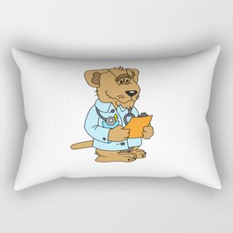 Trust me I am a Dogtor - gift Rectangular Pillow