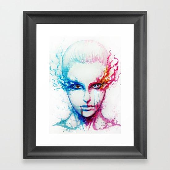 """""""Bipolarity"""" Framed Art Print"""