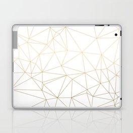 Geometric Gold Minimalist Design Laptop & iPad Skin