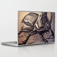 beetle Laptop & iPad Skins featuring Beetle by Werk of Art