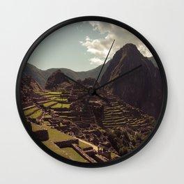 Machupicchu Wall Clock