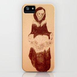 Death's pretty iPhone Case