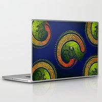 irish Laptop & iPad Skins featuring Irish Twist by Alan Hogan