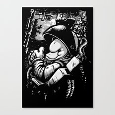 so long and thanks! (alternate version) Canvas Print