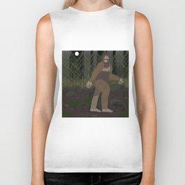 Bigfoot in the Forest Biker Tank