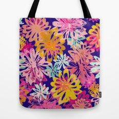 FlowerHex Tote Bag