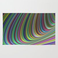 illusion Area & Throw Rugs featuring Illusion by David Zydd