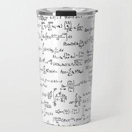 Math Equations Travel Mug