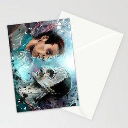 Garak and Bashir Face Stationery Cards