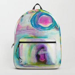 Driven To Distraction, Abstract Landscape Art Backpack