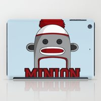 minions iPad Cases featuring Misha's Minions by Evie Bird