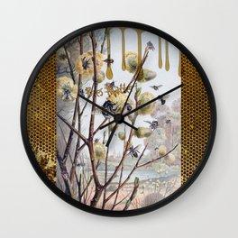 Bees Matter Wall Clock