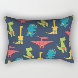Dinos In Speedos Rectangular Pillow