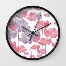 Flower Carpet 89 Wall Clock